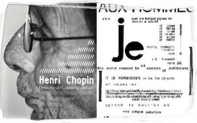 henri chopin / oratorio de copernic & co