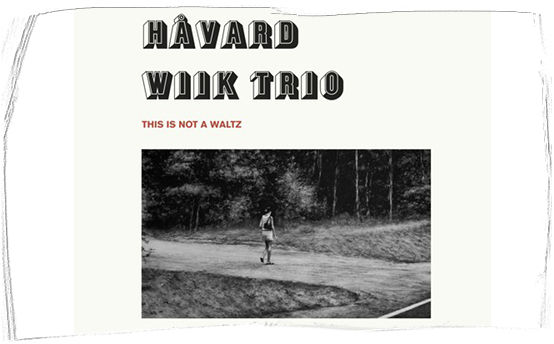 havard wiik trio - this is not a waltz