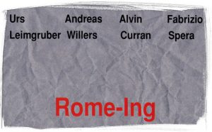 leimgruber, willers, curran, spera: rome-ing